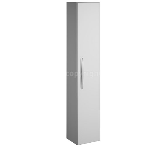 Bauhaus Stream Tower Storage Unit 300 x 1600mm White Gloss Image