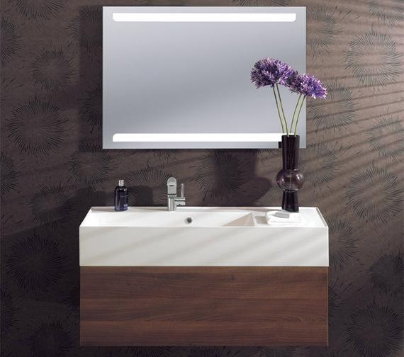 Bauhaus Elite Illuminated LED Back Lit Mirror 700 x 1000mm - ME10070A