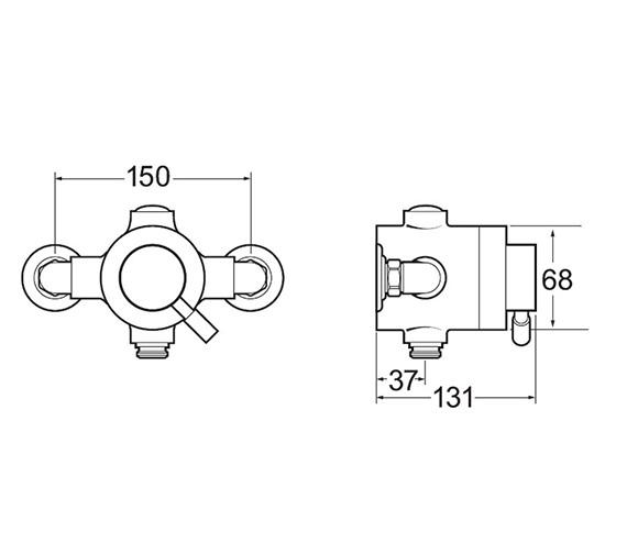 Technical drawing QS-V50042 / VSNVSEQT01