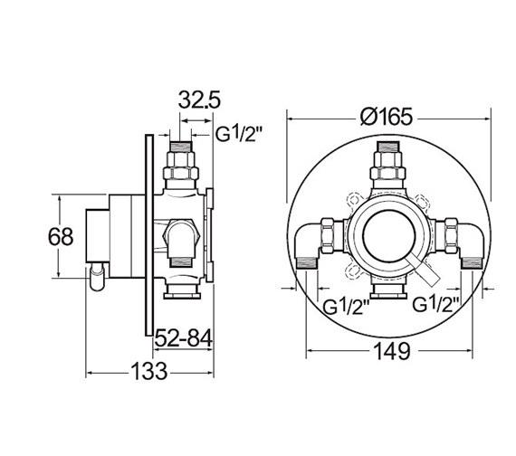 Technical drawing QS-V50046 / VSNVSEQT02