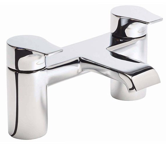 Tavistock Blaze Deck Mounted Bath Filler Tap Chrome - TBL32