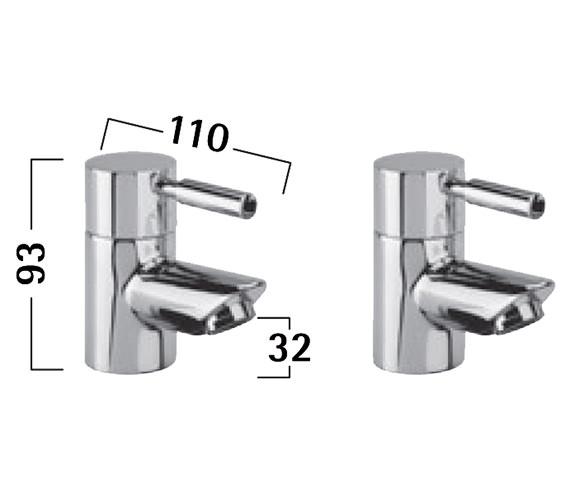Technical drawing QS-V50267 / TKN70