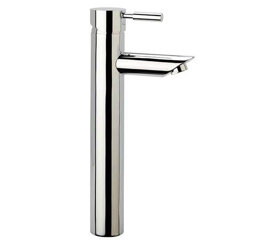 Tavistock Kinetic Tall Basin Mixer Tap Without Pop Up Waste - TKN52