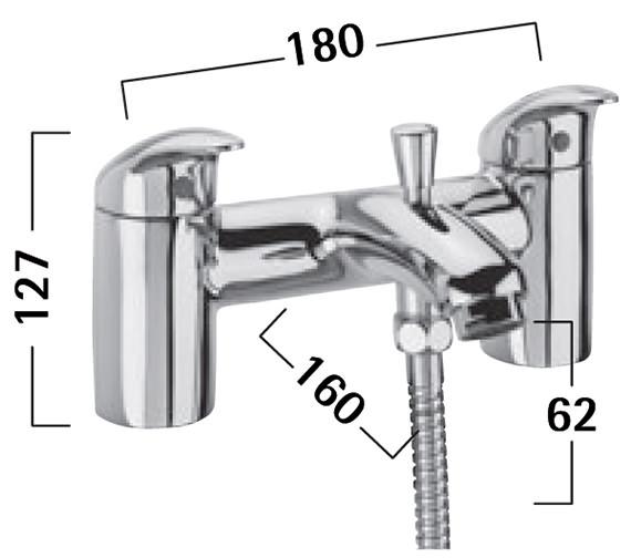 Technical drawing QS-V50283 / TCR42