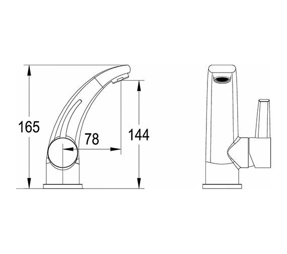 Technical drawing QS-V50317 / GRA305