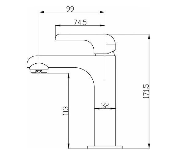 Technical drawing QS-V50319 / HER315