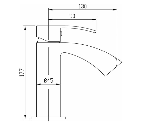 Technical drawing QS-V50328 / REI315