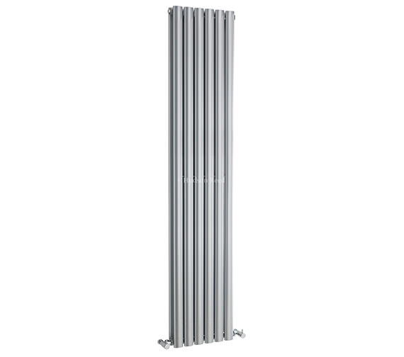 Hudson Reed Revive Double Panel Silver Radiator 354x1800mm - HLS82