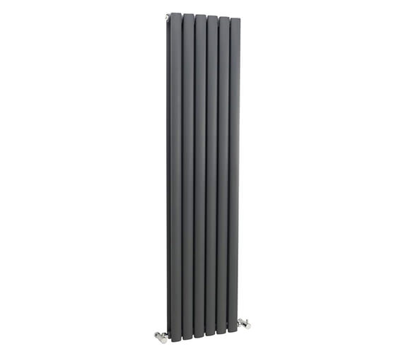 Hudson Reed Revive Double Panel Anthracite Radiator 354x1500mm-HLA76