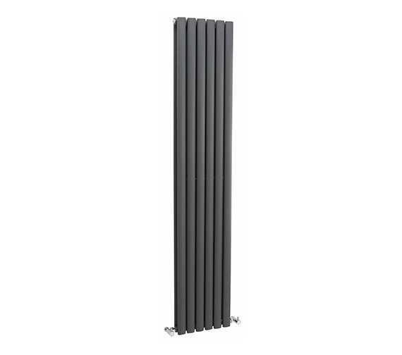 Hudson Reed Revive 354 x 1800mm Anthracite Double Panel Vertical Radiator