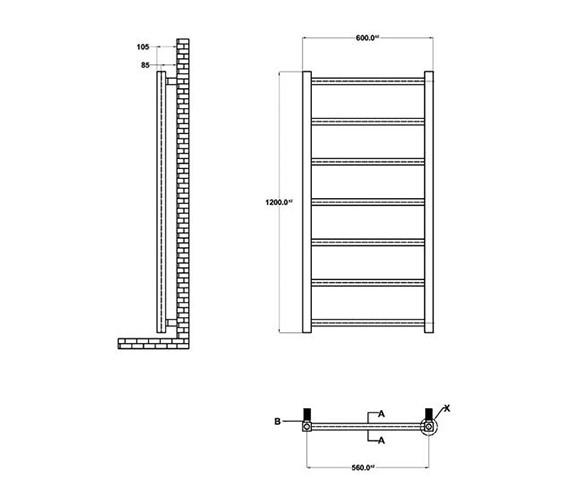 Technical drawing QS-V50386 / HL378