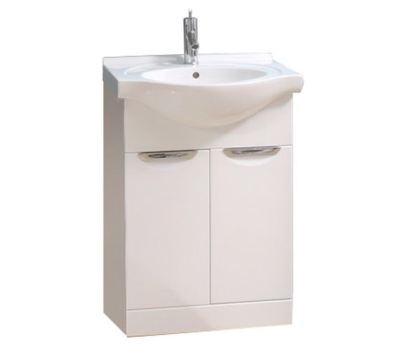 Fantastic Eviva EVVN51430WH New York 30 Inch White Bathroom Vanity With White