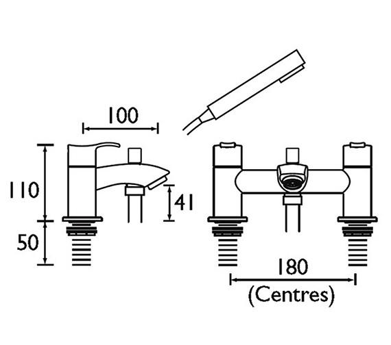 Technical drawing QS-V51047 / CAP BSM C
