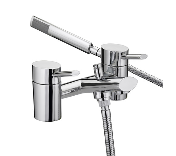 Bristan Oval Bath Shower Mixer Tap With Kit