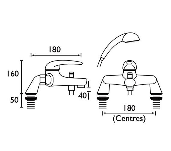 Technical drawing QS-V51068 / J PBSM C