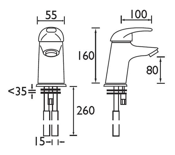 Technical drawing QS-V51072 / J BASNW C