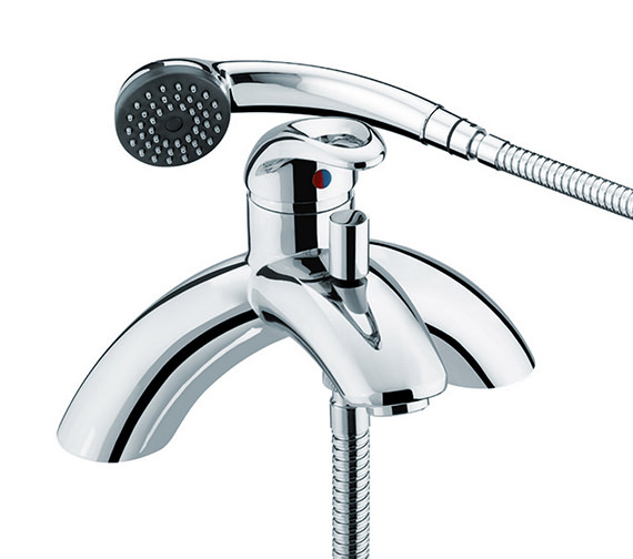 Bristan Java Bath Shower Mixer Tap With Kit - J SLPBSM C