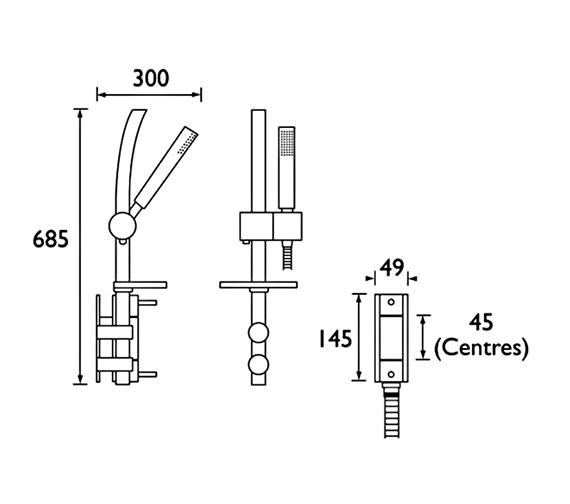 Technical drawing QS-V51114 / PM VSHXAR C