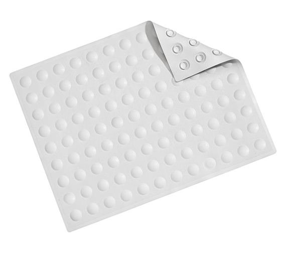 Croydex Dome Sucker Bath Shower Mat White - AG200022