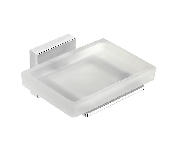 Croydex Cheadle Flexi-Fix Soap Dish And Holder - QM511941