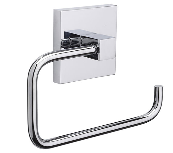 Croydex Brompton Flexi-Fix Toilet Roll Holder - QM571141