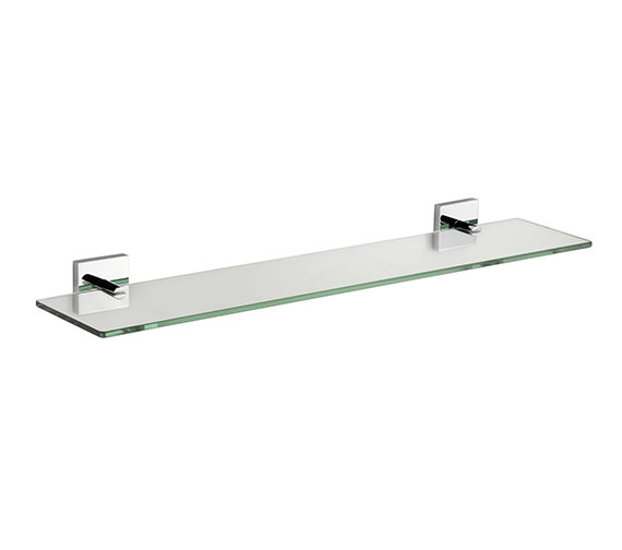 Croydex Chester Flexi-Fix Glass Shelf 590mm - QM441441