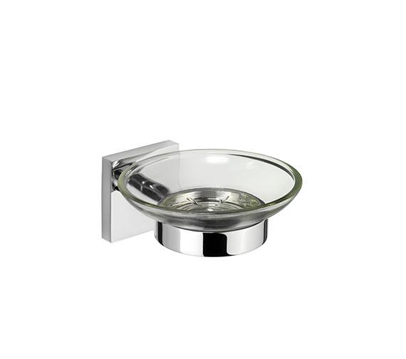 Croydex Chester Flexi-Fix Soap Dish and Holder - QM441941