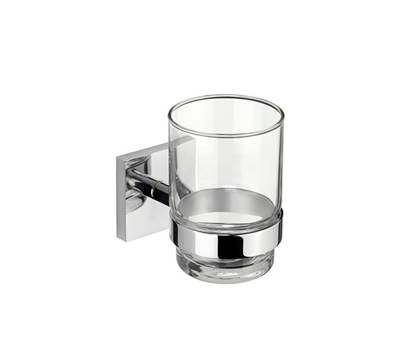 Croydex Chester Flexi-Fix Tumbler And Holder - QM441841
