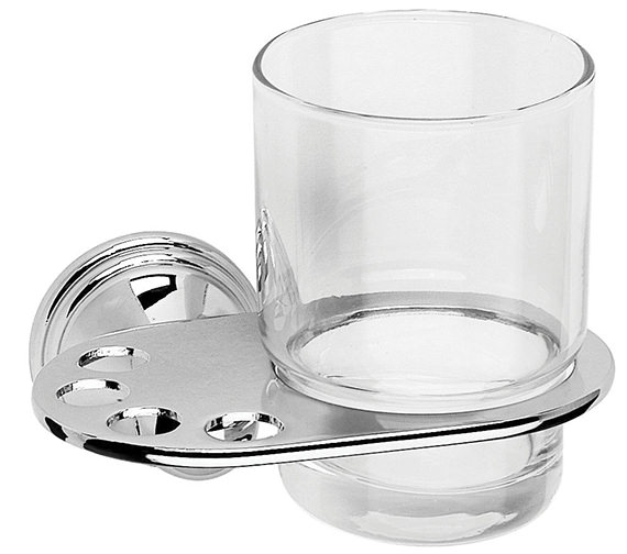Croydex Westminster Tumbler And Holder - QM201841