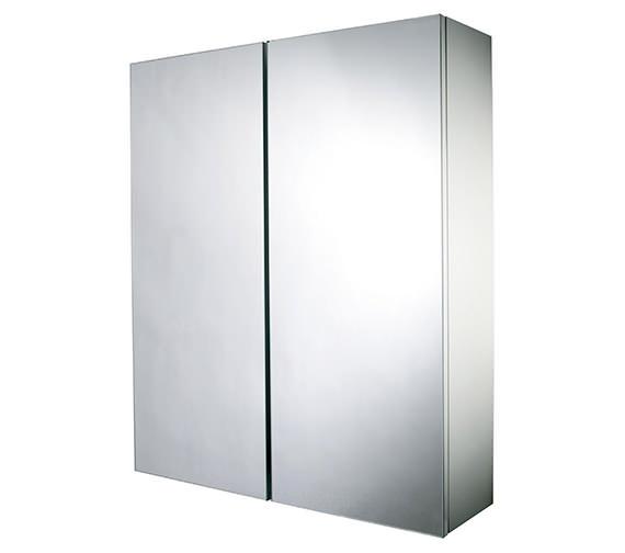 Croydex Alaska Hang N Lock Double Door Mirror Cabinet