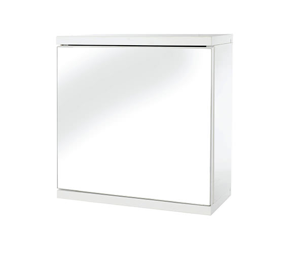 Croydex Simplicity Self Assembly One Door Mirror Cabinet - WC257122