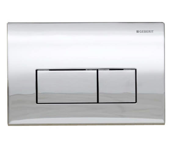 Geberit Kappa50 Dual Flush Plate Gloss Chrome - 115.260.21.1