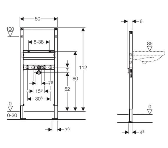 Technical drawing QS-V51843 / 111.495.00.1