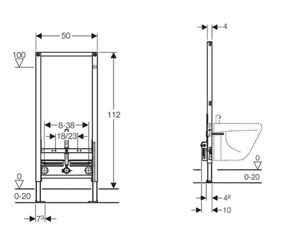 Technical drawing QS-V51846 / 111.545.00.1