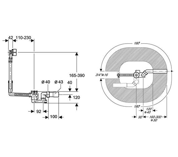 Technical drawing QS-V51868 / 150.712.21.1