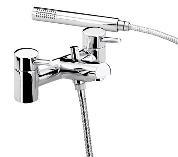 bristan prism chrome plated bath shower mixer tap pm bsm c bristan prism one hole bath shower mixer tap with kit
