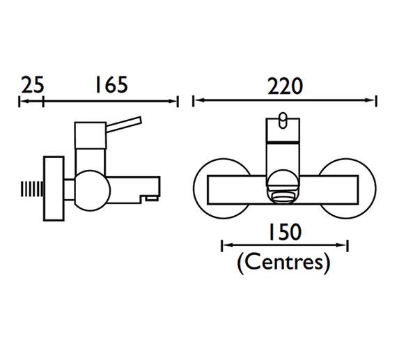 Technical drawing QS-V52057 / PM WMBF C