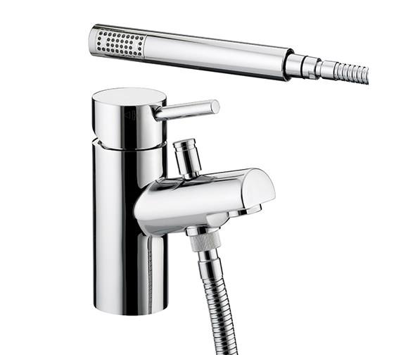 Bristan Prism 1 Hole Bath Shower Mixer Chrome Plated - PM 1HBSM C