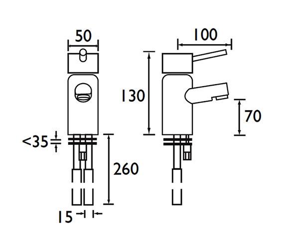 Technical drawing QS-V52062 / PM BASNW C