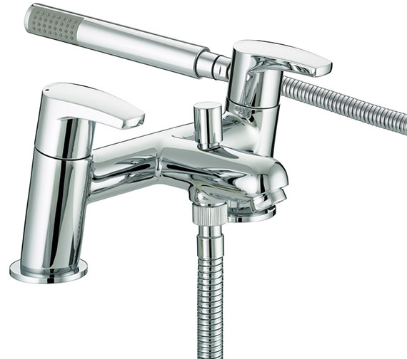Bristan Orta Bath Shower Mixer Tap - OR BSM C