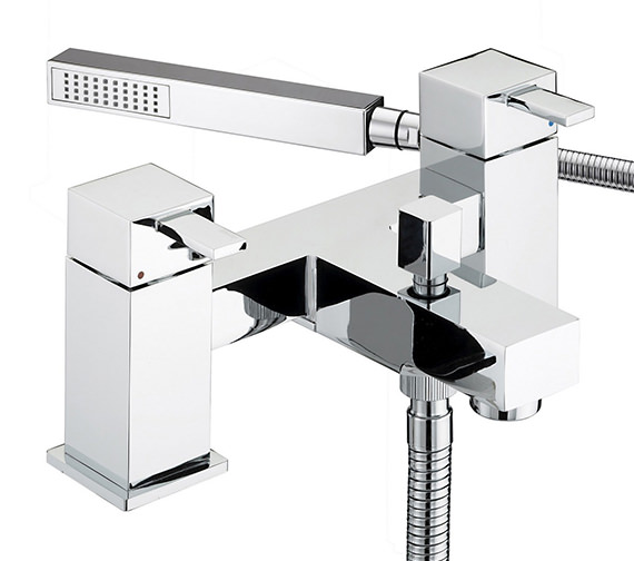 Bristan Quadrato Bath Shower Mixer Tap - QD BSM C