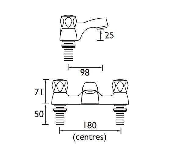 Technical drawing QS-V52178 / VAC BF C MT