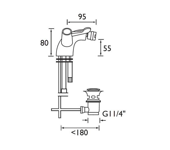 Technical drawing QS-V52183 / VAC BID C MT