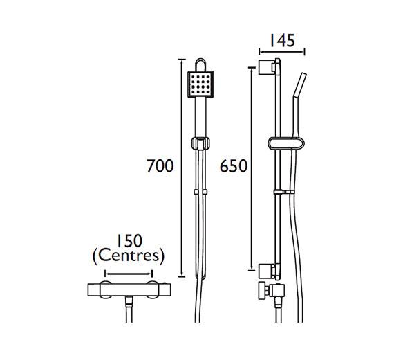 Technical drawing QS-V52203 / QD SHXSMFF C