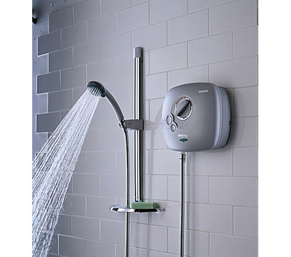 Bristan Hydropower White Thermostatic Power Shower - HY POWSHX W