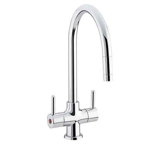 Bristan Beeline Chrome Kitchen Sink Mixer Tap With Pull-Out Nozzle