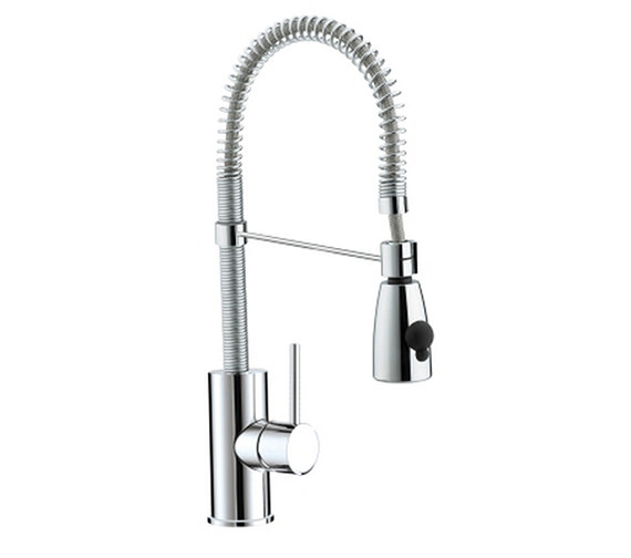 Bristan Target Kitchen Monobloc Sink Mixer Tap With Pull Out Spray -TG SNK C