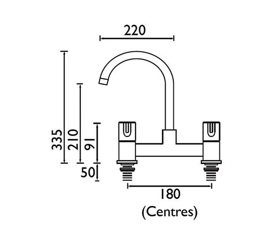 Technical drawing QS-V52298 / DUL DSM C