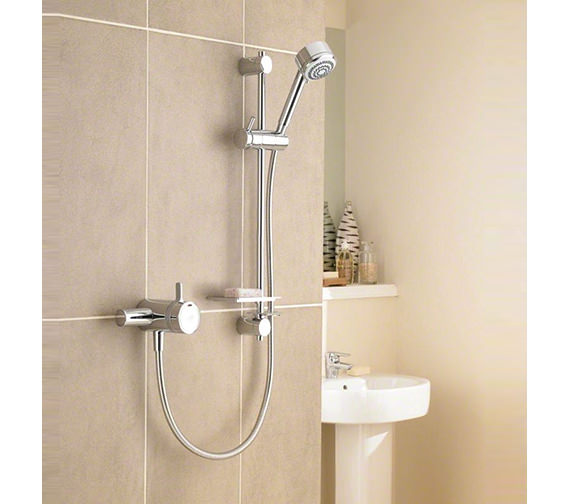 Mira Select Exposed Valve Thermostatic Mixer Shower Chrome