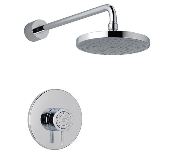 Mira Element SLT Built-In Rigid Thermostatic Mixer Shower Chrome